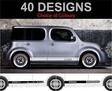 Nissan Cube Side Stripe Decals Stickers Both Sides