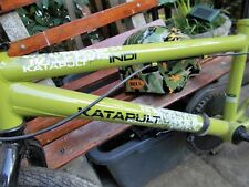 KATAPULT INDI KIDS BMX BIKE IN VERY GOOD CONDITION WITH CYCLE HELMET.
