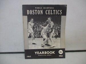 1963-64 Boston Celtics Yearbook