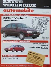 NEUF Revue technique OPEL VECTRA ESSENCE GL GLS CD GT RTA 601 1997 CITROEN CX