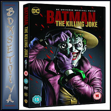 BATMAN THE KILLING JOKE - DC UNIVERSE ORIGINAL MOVIE *BRAND NEW DVD**