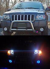 Blue Angel Eye Fog Lamps Driving Lights Kit for 1999-2004 Jeep Grand Cherokee