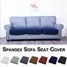 Canapé-housse canapé en tissu extensible pour divan recouvert d'un siège 1-3