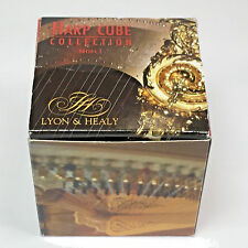 "Lyon & Healy Harp Collection Series 1 Made in Museum MIM 3"" Art Cube Desk Puzzle"