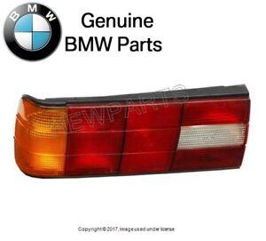NEW For BMW E30 Taillight Lens Left Driver GENUINE OEM Tail Lamp Light Brake
