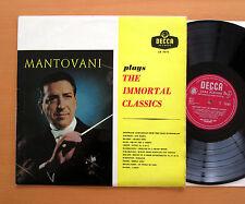 LK 4072 Mantovani Plays The Immortal Classics EXCELLENT Decca Mono LP