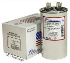 50 Mfd x 370 / 440 Vac Round Run Capacitor AmRad Usa2217 - Made in the Usa