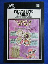 "~~ FANTASTIC FABLES #1 SILVERWOLF COMICS 1987 ~ ""FLY"" TIM VIGIL STORY ~~"