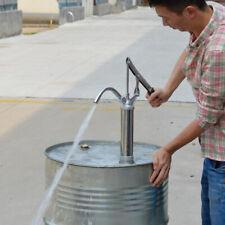 hand operated barrel pump lever diesel oil water fuel transfer pump 20L/min