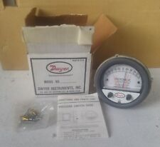 New listing Dwyer 3300-0-Ols Photohelic Pressure Switch / Gauges Series A 3000
