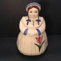 Shawnee Dutch Tulip Girl Vintage Cookie Jar