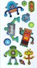 3D Epoxy Gel Stickers Robots for Scrapbooking sticker Album school