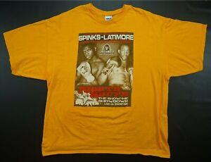 Rare VTG Spinks Vs. Latimore Show Me Showdown 2009 Boxing Match T Shirt IBF 2XL