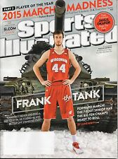 FRANK The Tank KAMINSKY Sports Illustrated WISCONSIN BADGERS 2015 March Madness