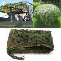 2x3M Waterproof Woodland Camo Net Hunting Camouflage Network I1I1 Hide Nett
