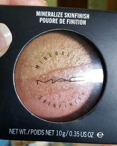 MAC Minéraliser Skinfinish~Triple Fusion~ Rare! Surligneur Fard World Livraison