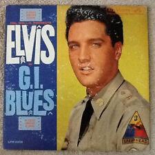 ELVIS PRESLEY g.i. blues LP VG+/VG LPM 2256 1st Press 1960 Mono, original sleeve