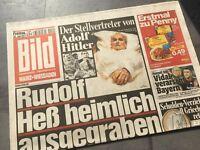 BILD Zeitung 22. Juli 2011 / 7. / 22.7.2011 / Rudolf Heß