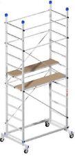 MINI PONTEGGIO / TRABATTELLO / in alluminio ZEUS Marchetti h. m. 3,60