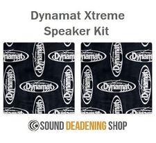 Dynamat Xtreme Extreme Speaker Kit Car Black Sound Deadening Proofing DYN10415