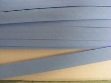 Bias Binding Blue Poly Cotton 12mm  x 30 mts