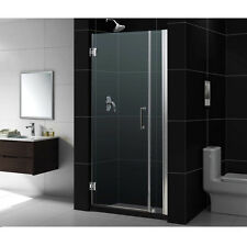 "UNIDOOR 31"" - 32"" DREAMLINE 3/8"" GLASS FRAMELESS PIVOT SHOWER DOOR CUSTOM SIZE"
