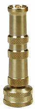 Brass Twist Garden Hose Spray Nozzle 4""
