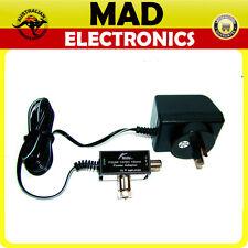 HILLS Power Supply PSU6F 14VDC @ 150mA F type (suits MASTHEAD Q-Amp and LARA)