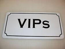 VIPS Metal Sign Dance Club Bar Game Room Pool Hall Table Golf Event DJ