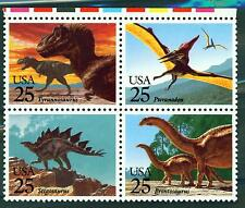 US Fauna Dinosaurs stamps set MNH