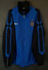 RARE UMBRO MEN'S ENGLAND NATIONAL JACKET TRAINING SOCCER FOOTBALL BLUE SIZE XL