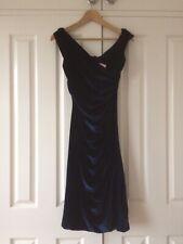 Wheels & Dollbaby Blue 'Velvet' Mantrap Dress BNWT
