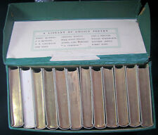 Very Rare 1903 12 Book Set Library of Choice Poetry with Box Gresham Publishing