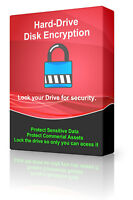 Hard-Drive Full Disk Encryption Folder Files Data Locker Secure Key-files DVD