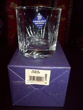 1 X  EDINBURGH CRYSTAL ROSLIN  DOUBLE OLD FASHIONED WHISKY GLASS / TUMBLER BNIB