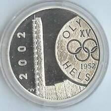 Finland 10 euro 2002 Proof zilver PP: Olympische Spelen Helsinki