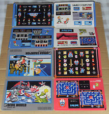 Japanese NES Famicom History Book Jumbo Stickers - Devil World & Urban Champion