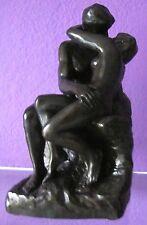 Auguste Rodin THE KISS Sculpture Figure Bonded Bronze Statue