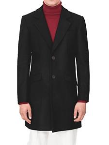 Cappotto uomo man brand Antony Morato colore nero lungo al ginocchio black