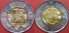 Brilliant Uncirculated 2016 Canada Battle Atlantic 2 Dollars From Mint's Roll