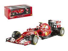 Ferrari F1 F2014 Kimi Raikkonen 1:43 Diecast Model Hotwheels Elite - BLY70