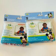 Neat Solutions Disney Baby Disposable Placemats 2 Pkgs of 10 Brand New Mickey