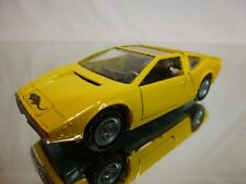 MEBETOYS A45 A-45 ALFA ROMEO IGUANA - YELLOW 1:43 - VERY GOOD CONDITION