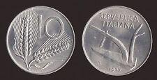 10 LIRE 1977 SPIGHE E ARATRO - ITALIA FDC/UNC FIOR DI CONIO