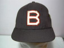 Stall & Dean Boston B Baseball Cap Hat NWT Fitted 6.5 Brown Vintage