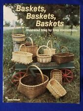 Baskets Baskets by Donna Rohkohl - Basket Weaving Patterns 80s vintage