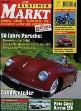 Markt 8/98 1998 Cisitalia 360 Datsun Fairlady Ford Thunderbird Moto Guzzi Airone
