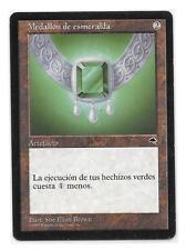 MEDALLON DE ESMERALDA Tempest ESPAÑOL MTG NM Emerald Medallion Tempestad SPANISH
