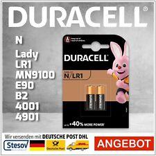 2er Pack Duracell MN9100 Lady N LR1 1,5V Volt Blister Batterie Alkaline