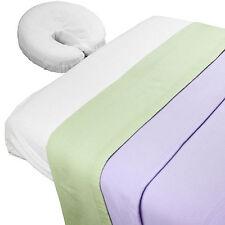 Body Linen Lavender Fields™ Theme Massage Table Sheet Set with Blanket
